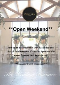 Open weekend for all to visit. Come along and see why Ocean view truly is Gowers best kept secret!